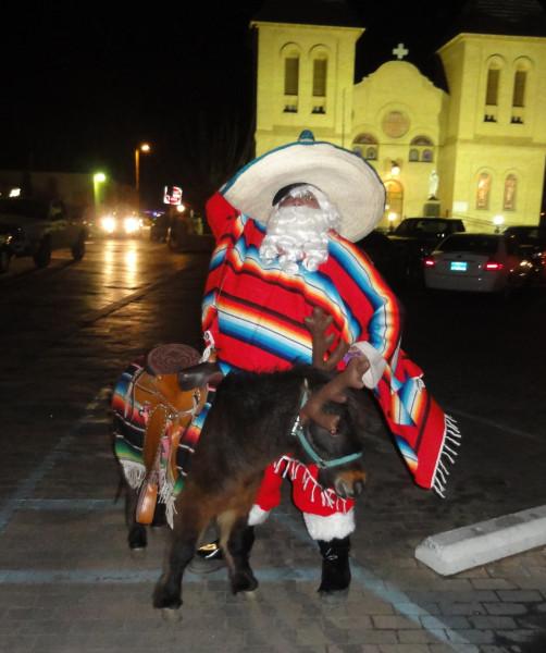 Santa in New Mexico
