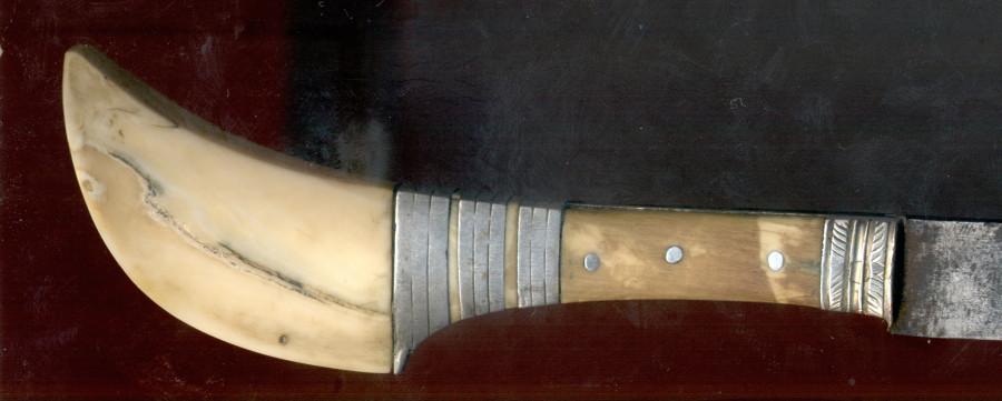 Новогодняя сказка: старый нож с Мальдивских островов 5