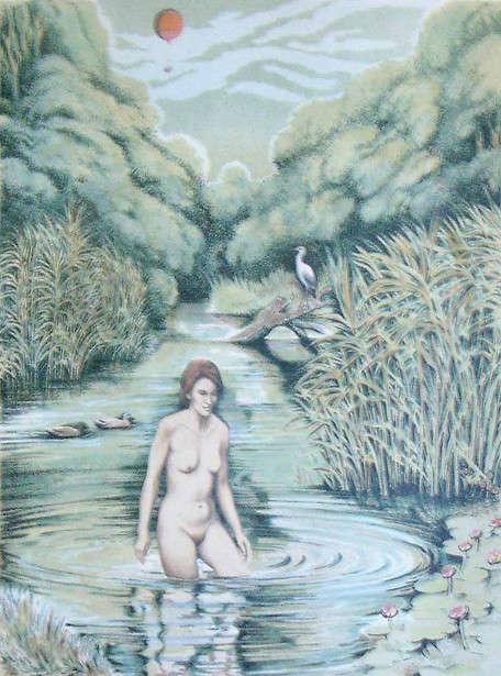 Обнаженная натура в изобразительном искусстве разных стран. Часть 44