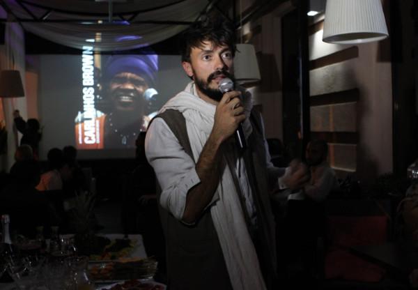 Vincent Moon in Fame cafe