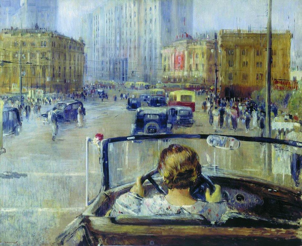 Пименов. Новая Москва