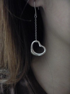 Elsa Peretti Open Heart Drop Earrings My Own Collection Sample