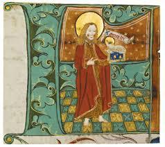medieval nun painting