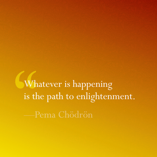 The Path to Enlightenment by Pema