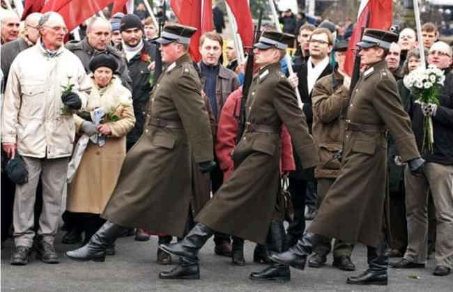 Латышские фашисты