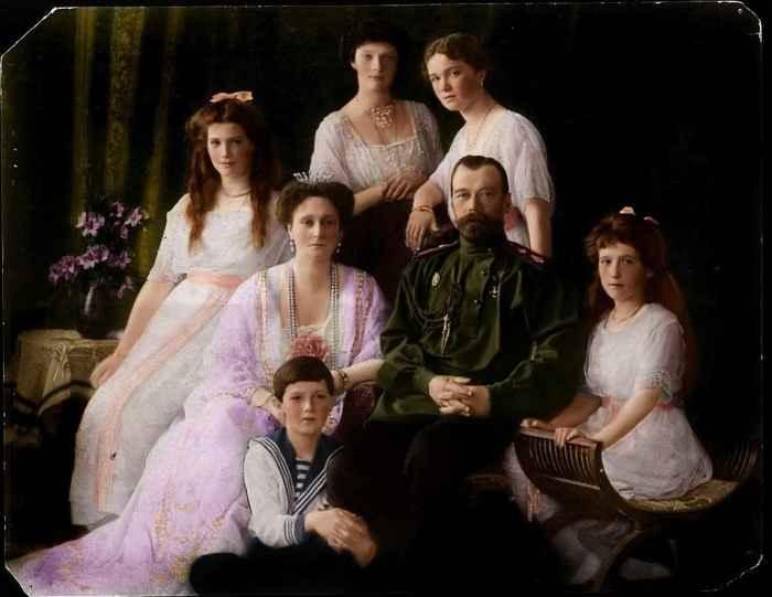Семья Императора Николая Второго