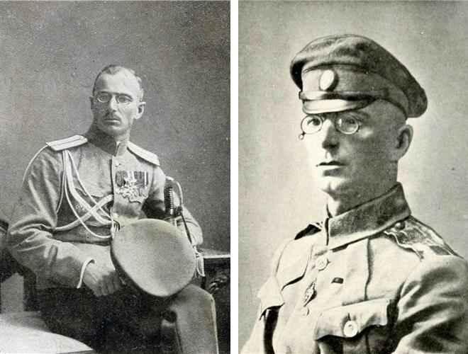 Генерал М Дроздовский