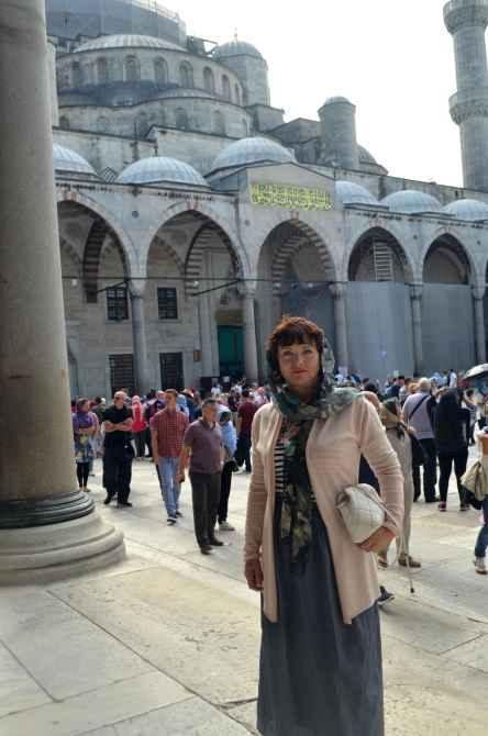 Стамбул. Голубая мечеть