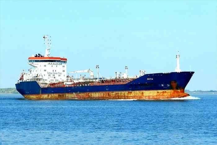 chemical tanker MAIRA