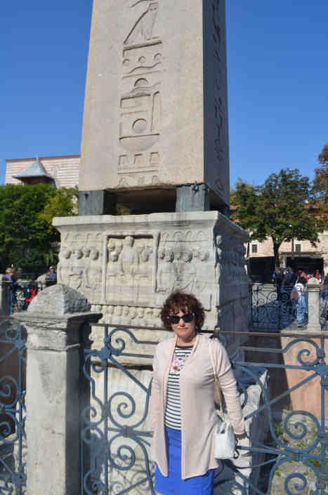 Египетский обелиск Стамбул