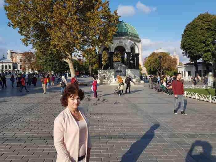 Немецкий фонтан Стамбул