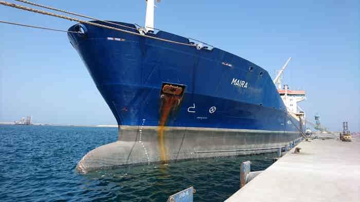 tanker MAIRA