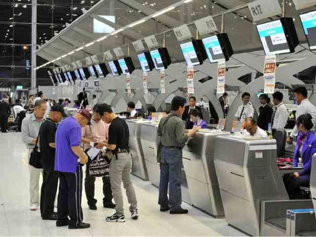 регистрация билетов в аэропорту