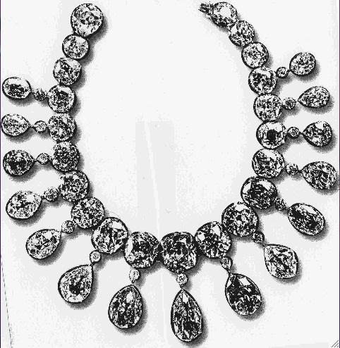 The Imperial riviére necklace