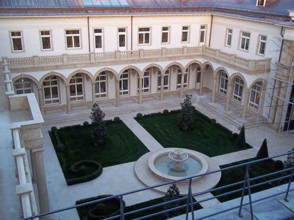 Дачный дворик