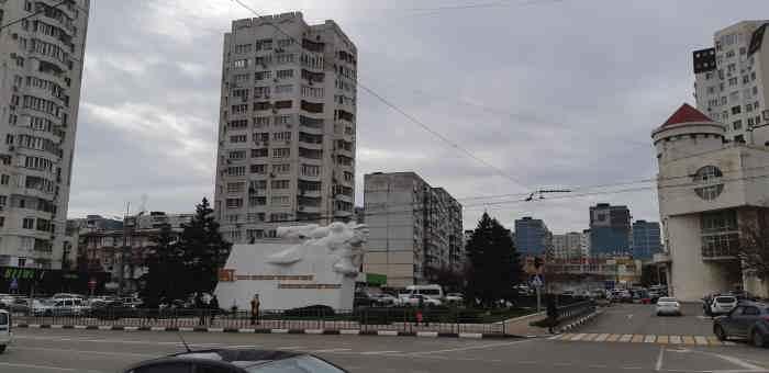 Новороссийск. Передний край Малой Земли