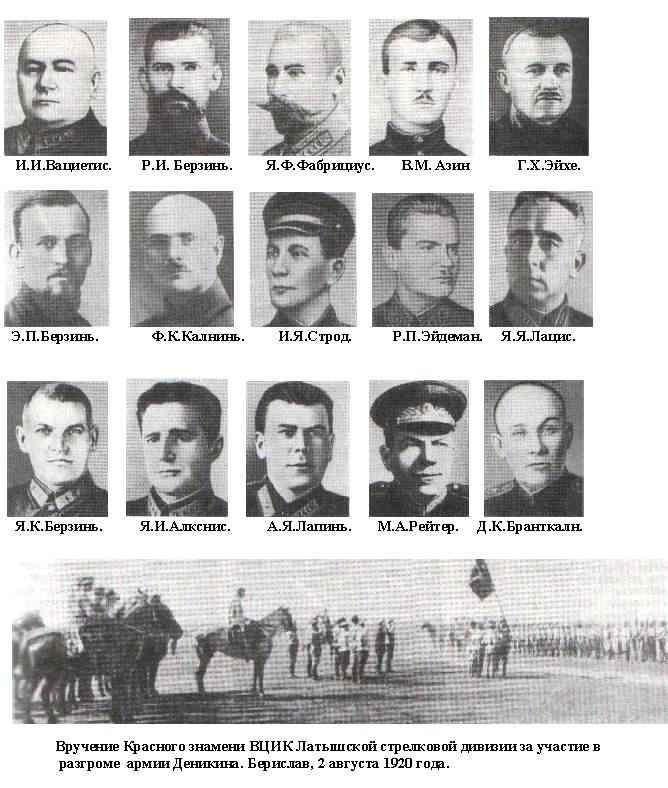 Латышские стрелки