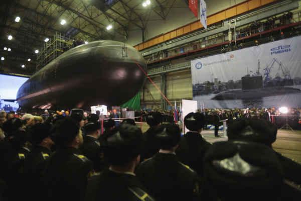 Подводная лодка Новороссийск