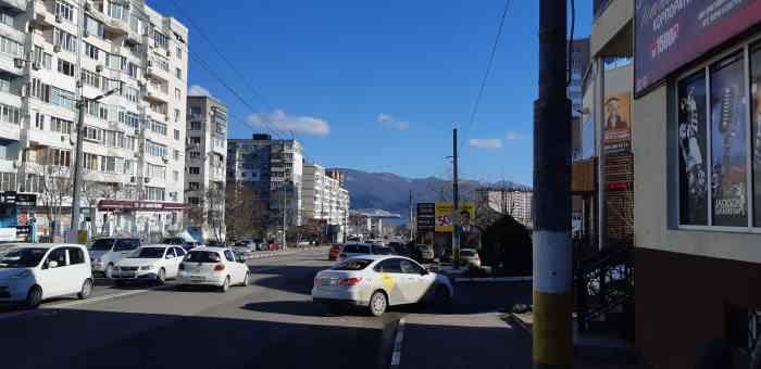 Новороссийск. Улица Куникова
