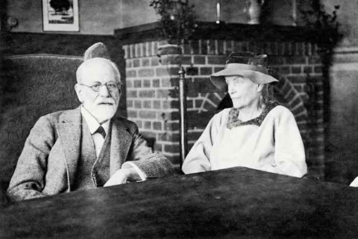 Лу Андреас-Саломе и Зигмунд Фрейд 1920