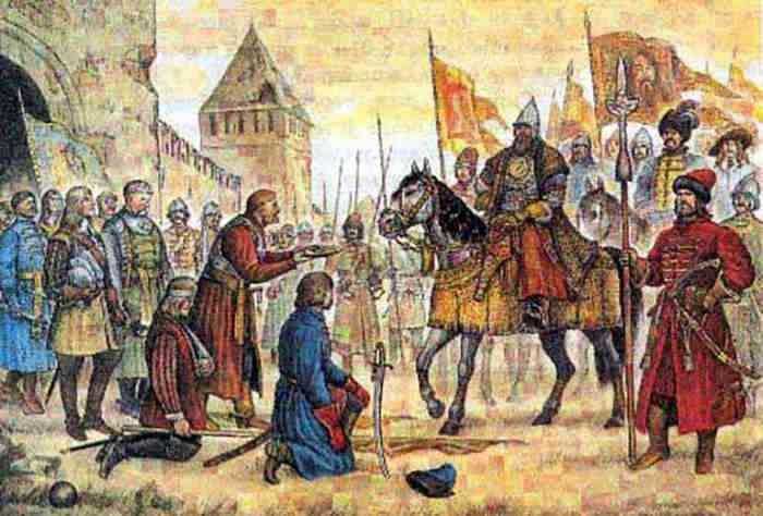 Капитуляция польского гарнизона Смоленска 1654