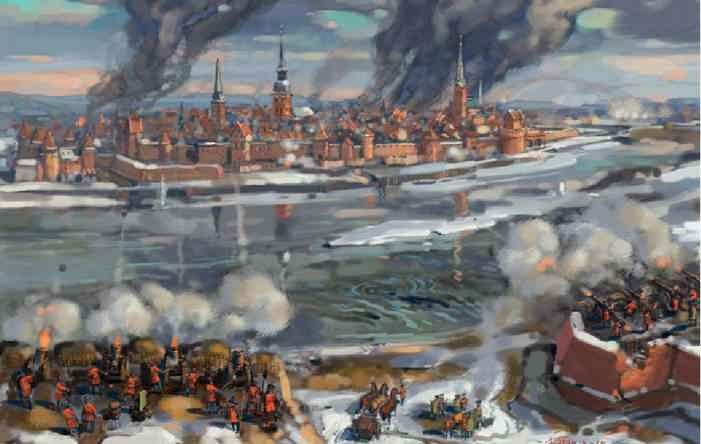 Осада русскими Риги 1656