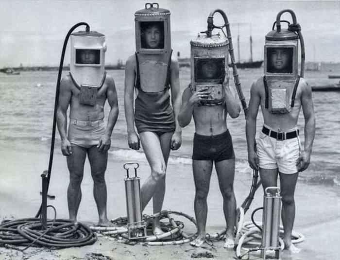 Дайверы, 1940-е годы