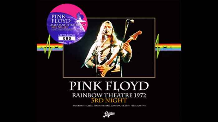 Pink Floyd - Rainbow Theatre 1972