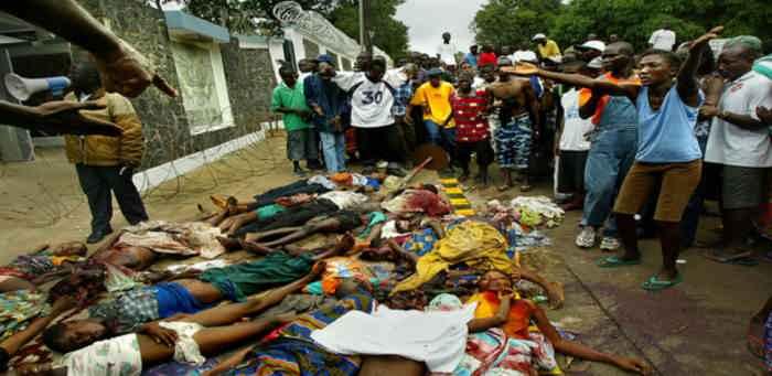 гражданская война в Либерии