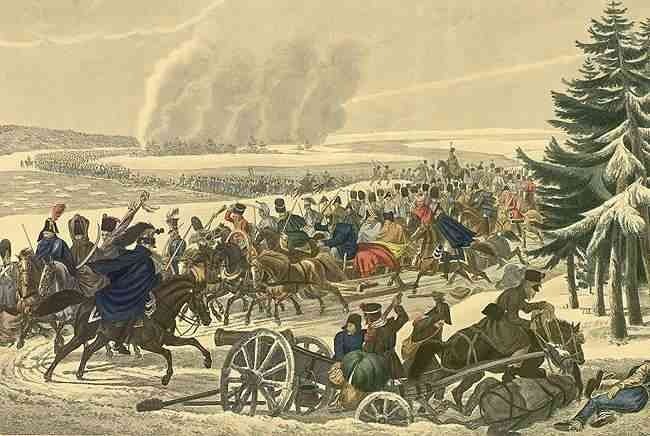 Переправа французов через Березину