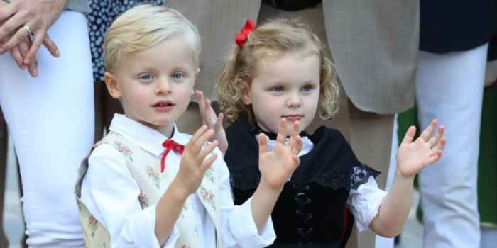 Близнецы Монако Принц Жак и принцесса Габриэлла