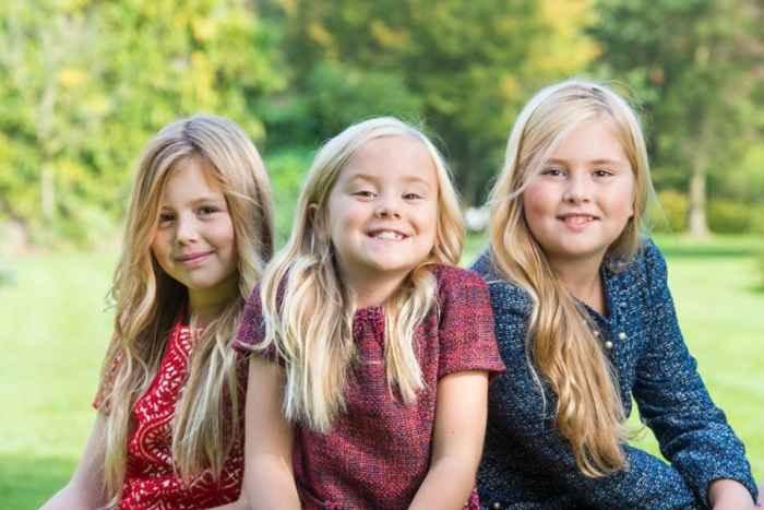 Катарина-Амалия Нидерландская c сёстрами