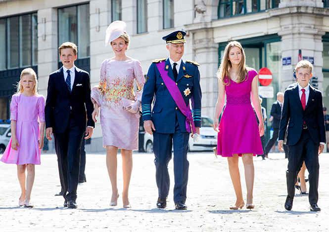 Бельгийская королевская семья
