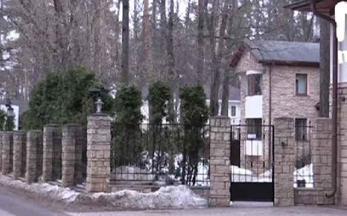 элитное поместье на Рублёвке