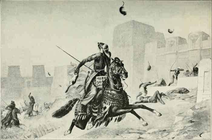 Битва персов с египтянами
