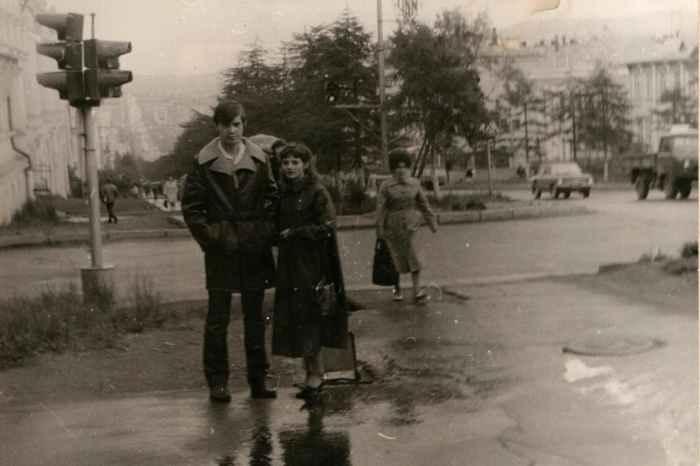 Магадан. Начало Колымского тракта. 1983