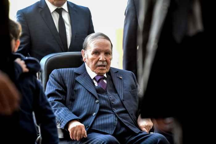 Президент Алжира Бутефлика