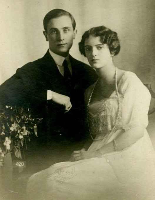 Феликс Юсупов с женой Ириной