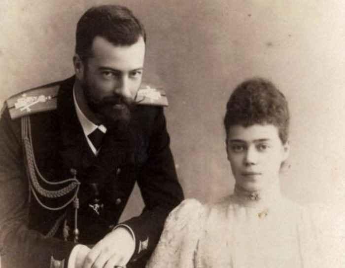 Великий Князь Александр Михайлович с супругой, Великой Княгиней Ксенией Александровной