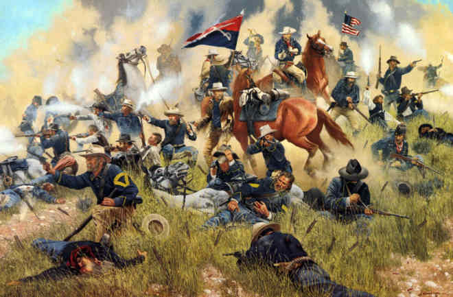 Custer's Last Command The Battle of the Little Bighorn