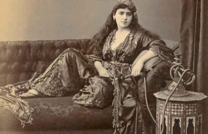 Османская одалиска, 1890 год