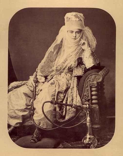 турчанка, конец XIX века