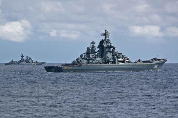 Крейсер Пётр Великий