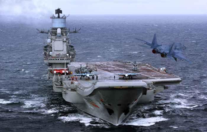 тяжёлый авианесущий крейсер Адмирал Кузнецов