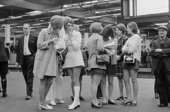 мини-юбки 1960-х