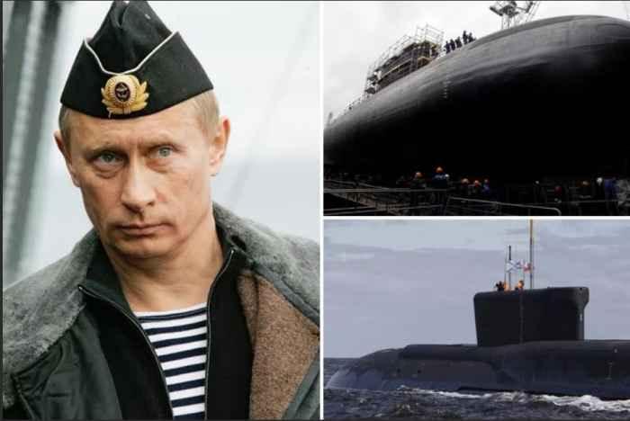 Путин и подводные лодки