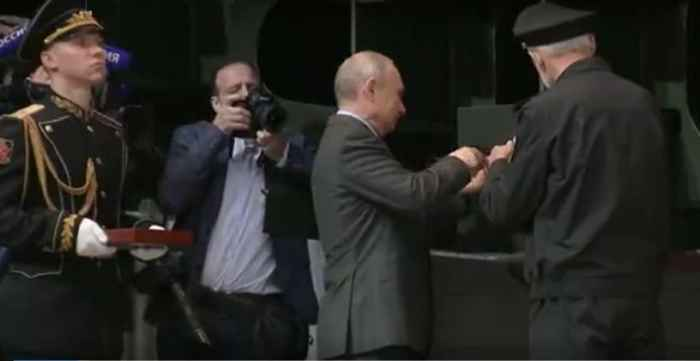 Путин на Северной верфи