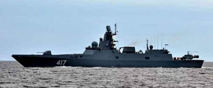 Фрегат проекта 22350 Адмирал Горшков