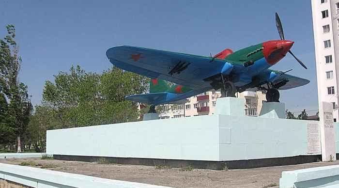 Новороссийск памятник самолёт