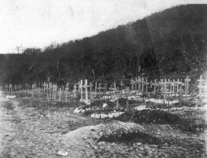 Немецкое кладбище в Новороссийске